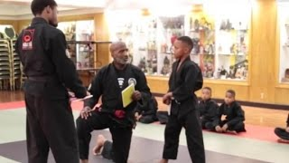 Karate instructor to student: It