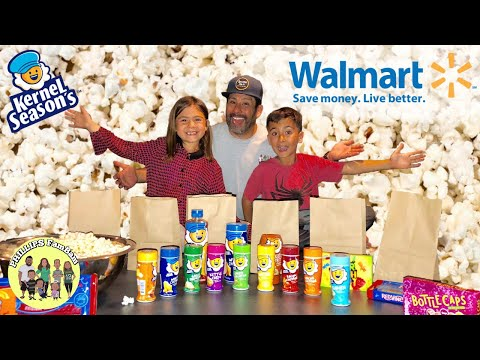 FAMILY MOVIE NIGHT KERNEL SEASON'S POPCORN BAR | WHAT DID WE BUY AT WALMART? | PHILLIPS FamBam Vlogs Mp3