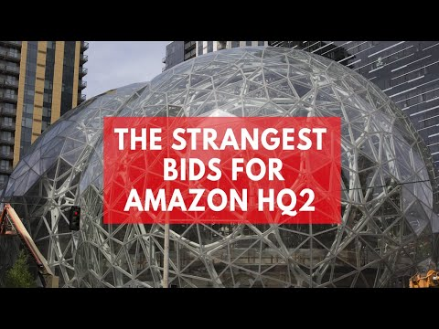 The five craziest bids for Amazon's new HQ