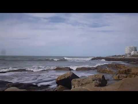 Mar del Plata - Argentina - Olas `después del Temporal - Musicalizado