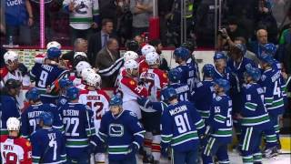 Gotta See It: Henrik Sedin Incites Post Game Fight?