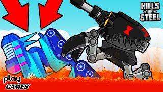 видео: ТЕСТИРУЮ ВСЕ ТАНКИ! Разгром БАЛЛИСТЫ! Супер обновление Cимулятор танкиста игра HILLS of STEE