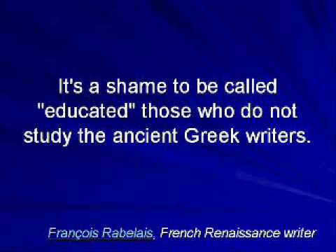 Famous quotes about the Greeks