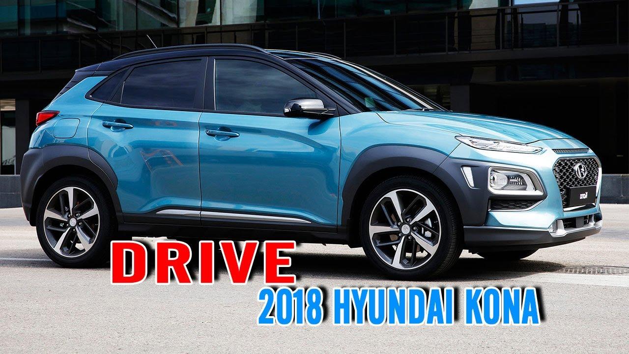 New 2018 hyundai kona interior exterior and drive autocar show