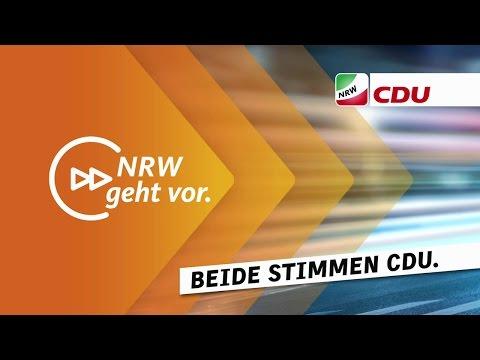 TV-Spot der CDU Nordrhein-Westfalen zur Landtagswahl 2017
