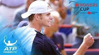 Roger Federer vs Andy Roddick: Epic Rogers Cup 2003 Semi-Final Match Highlights