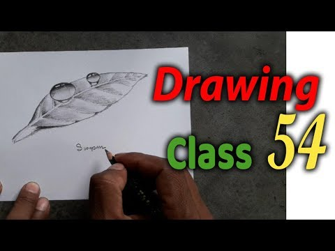 drawing-class-54,-how-to-draw-a-water-drop-pencil-drawing-step-by-step