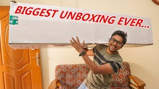 BIGGEST Unboxing Ever on My Channel !!