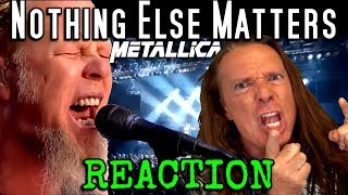 Vocal Coach Reacts To Metallica  - Nothing Else Matters -  Live - Ken Tamplin