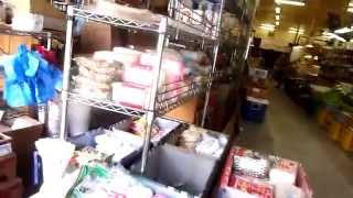 ハワイ州ホノルルのダウンタウン 市場をぶらぶら~~。肉、魚、野菜美味...