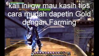 Dragon Nest INA | Farming Gold With Farming