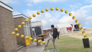 EPIC FOOTBALL TRICKSHOTS w/ RackaRacka