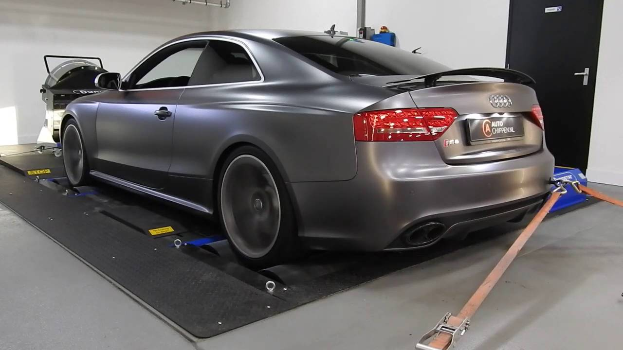 Stage 1 Audi RS5 and Akrapovic installation @ auto-chippen nl Tilburg