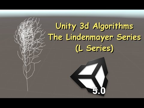 Unity Algorithms - The Lindenmayer Series (L Series)