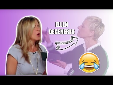 Jennifer Aniston funny moments