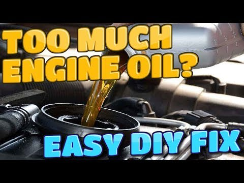 What happens if i mix engine oil is overfill