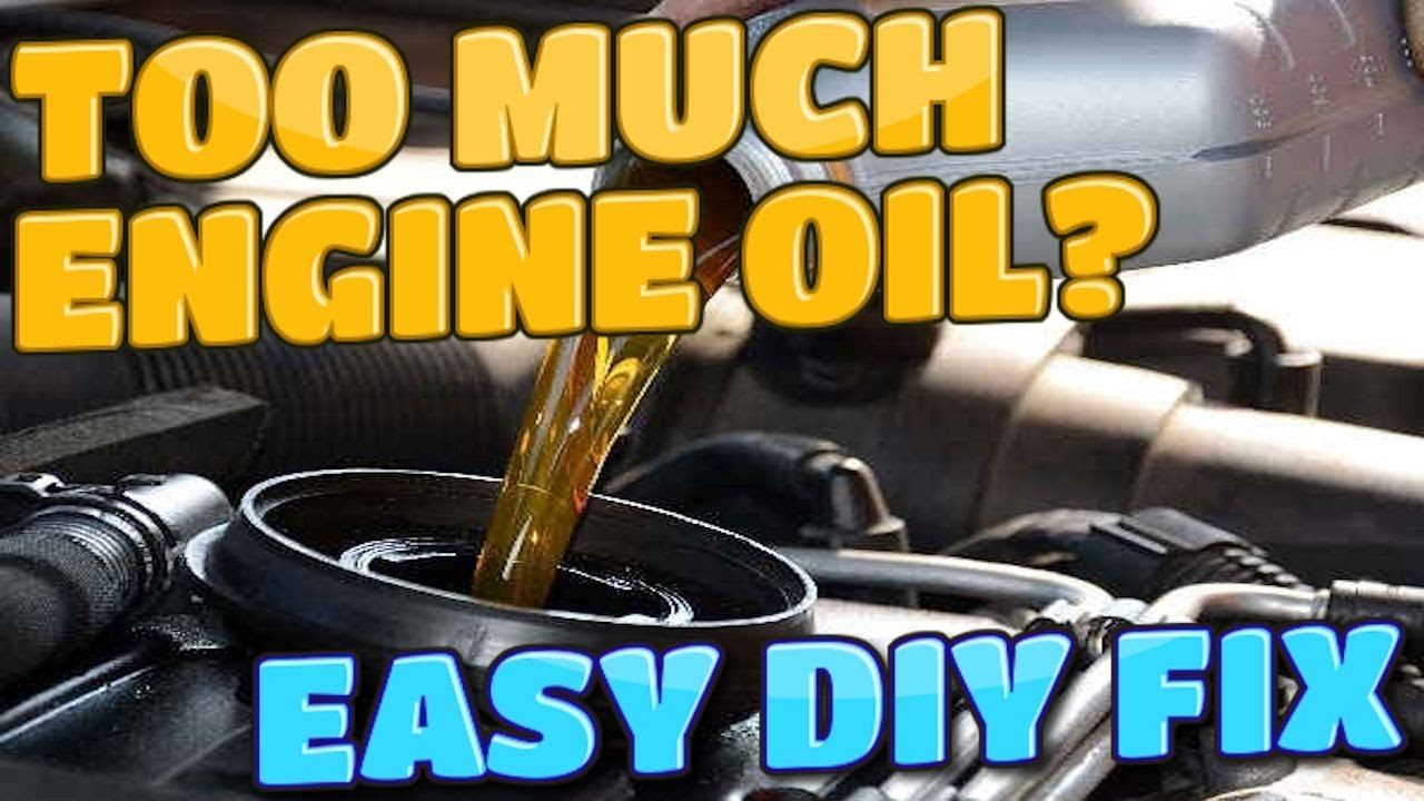 How To Remove Engine Oil if Overfilled? EASY DIY FIX!