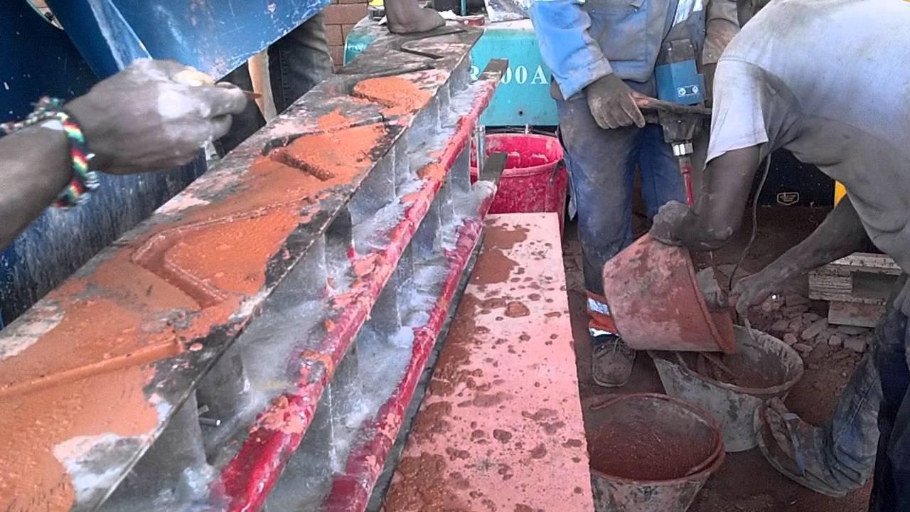 Briques de terre stabilisees auto blocquant au cameroun youtube