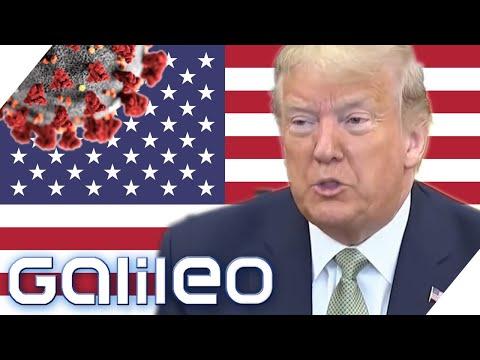 Corona-Krise USA: Wie geht Amerika unter Trump mit der Krise um? | Galileo | ProSieben