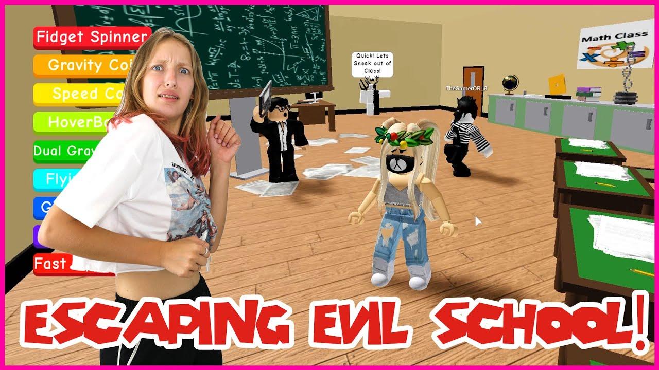 Gamer Girl Roblox Escape School Obby