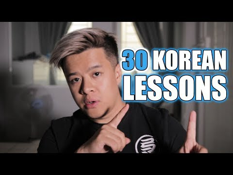 30 Mini-Lessons for Korean | Language Accepted!