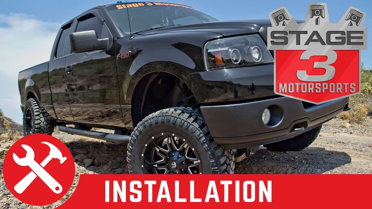 6 Inch Lift Kit For Ford F150 4X4 >> 2004 2008 F 150 4wd Zone Offroad 6 Inch Lift Kit Install