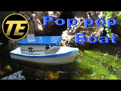 D.I.Y - How to Make a Pop Pop Boat