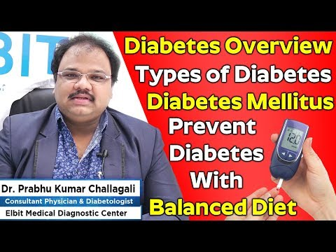 What is diabetes? | Diabetes Mellitus/types of Diabetes | How to Prevent Diabetes With Balanced Diet