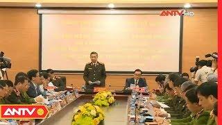 Đoàn kiểm tra Bộ Công An kiểm tra công tác tại công an Thành phố Hà Nội | ANTV
