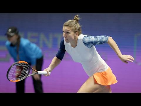 2017 St. Petersburg Ladies Trophy Second Round | Simona Halep vs Ana Konjuh | WTA Highlights