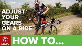How To Adjust Y๐ur Gears On A Ride - Roadside Maintenance
