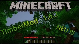 Minecraft Timber Mod Installation 1.6.2 Tutorial (HD) (German) (Deutsch) *NEU*
