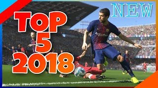 TOP 5 NEW Android Football Games of 2018 | OFFLINE