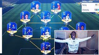 FULL BPL TOTS TEAM - FIFA 17 !!!