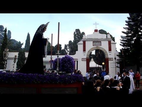 María Santísima de la Trinidad hace su primer traslado al cementerio por el Día de los Fieles Difunt