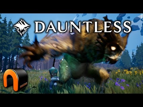 DAUNTLESS Monster Hunter Game - Beginning & First 2 Bosses
