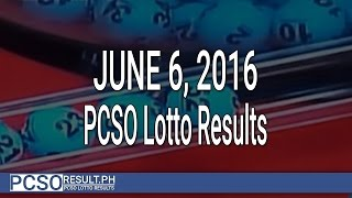 PCSO Lotto Results June 6, 2016 (6/55, 6/45, 4D, Swertres & EZ2)