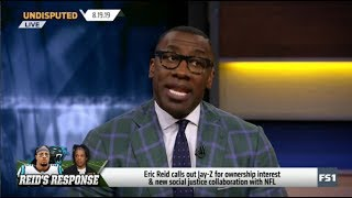 UNDISPUTED   Eric Reid calls out Jay-Z for ownership interest & new social justice collaboration NFL