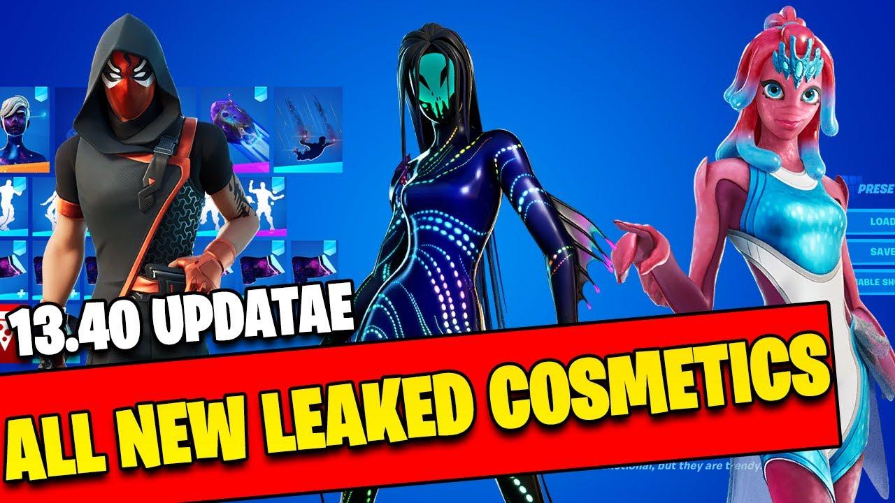 All New Leaked Skins In Game ( V 13.40 Leaked Cosmetics)   Fortnite Battle Royale Chapter 2 Season 3