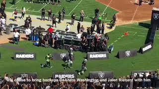 Marshawn Lynch makes his Raiders home debut