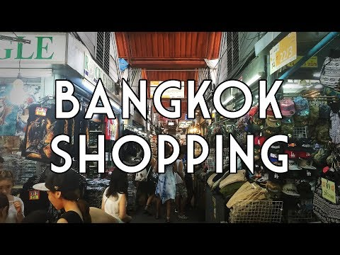 Bangkok Shopping Recommendations and Tips for Backpackers
