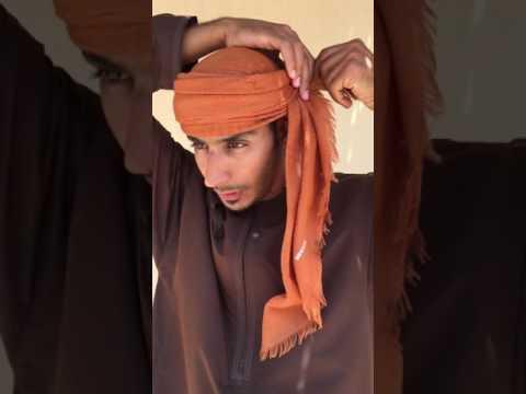 Shelley Dark Travel How to tie the Omani turban
