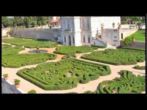 Aerial video of Villa Pamphili (Rome, Italy)