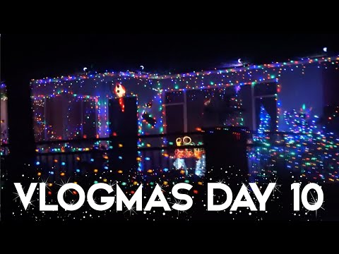 2015 VLOGMAS DAY 10 | CHRISTMAS LIGHT TOUR IN SANTA BARBARA