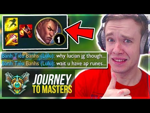 THESE ARE THE KIND OF GAMES I LOVE! MASTERS!!.. - Journey To Masters | League of Legends