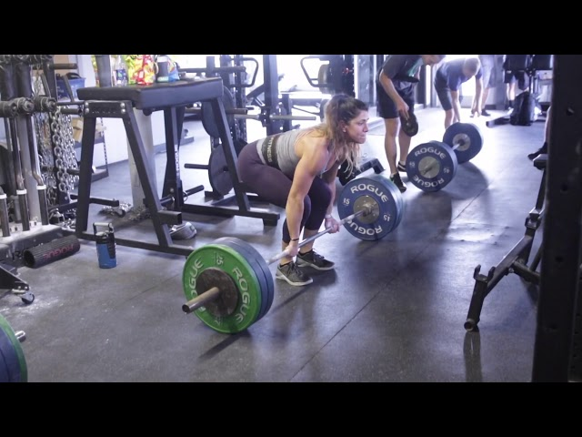 Deadlift max out day