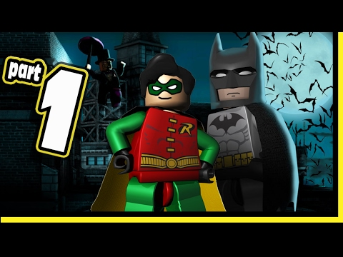 Lego Batman Video Game DS Walkthrough - Part 1 Gotham Streets