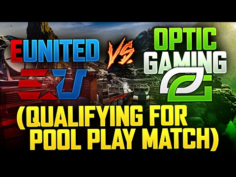 OpTic Gaming vs. EUnited (Qualifying for Pool Play Match)