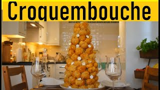 Croquembouche Frances (Crocante na Boca)