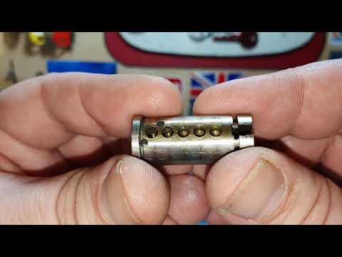 Взлом отмычками EVVA   lock picking.EVVA rim cylinder spp